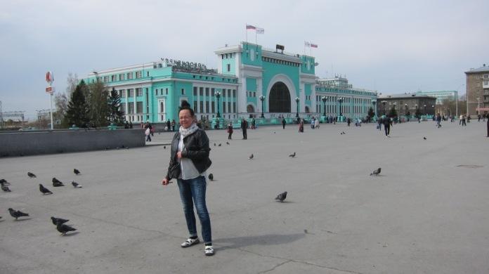 Kaima Novosibirskin rautatieasemalla